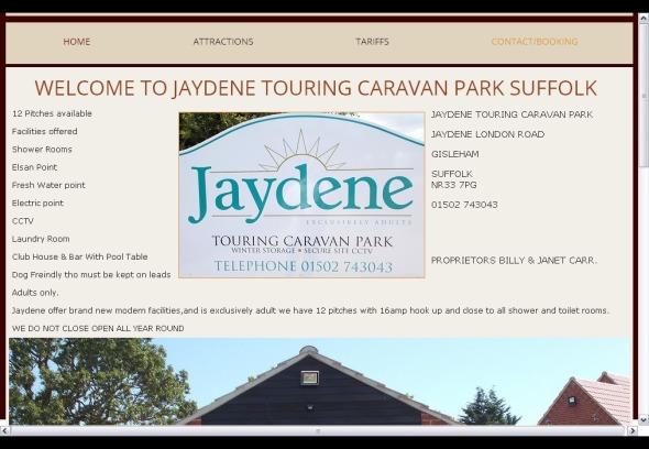 jaydene-touring-caravan-park Suffolk