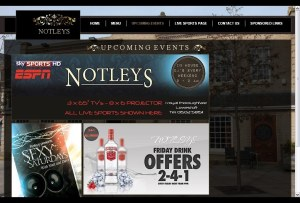 Frontlineweb.biz Notleys Lowestoft Frontlineweb.biz Suffolk website Design/Builders Notleys Bar Lowestoft Website Design made hassle free.